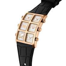 Donna 40mm Multi-Time Zone Watch - IceLink