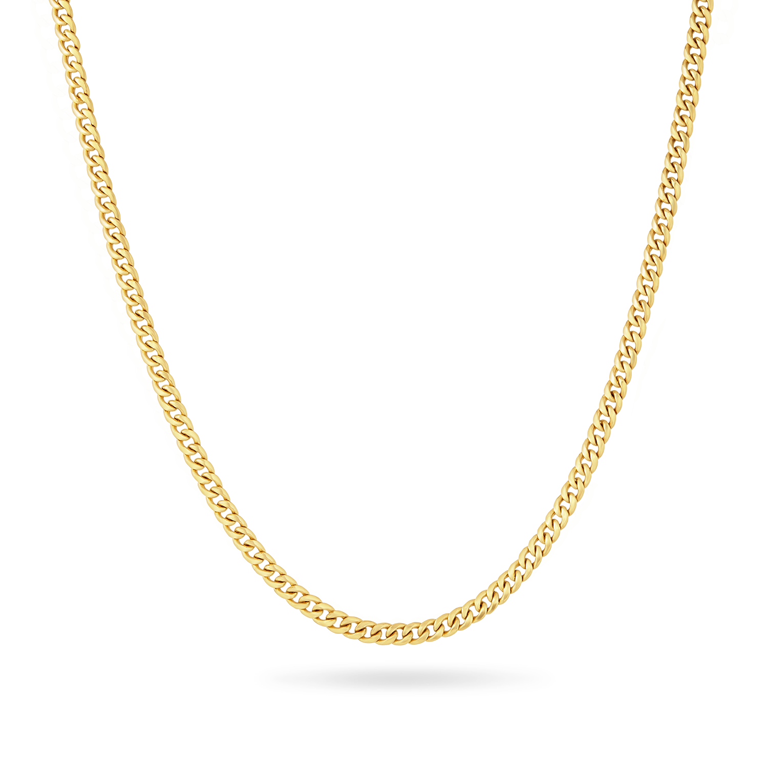 14K Miami Cuban Link Chain 7mm