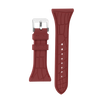 "Women's ""Siligator"" Straps 34MM Rust with Silver buckle"