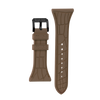 "Women's ""Siligator"" Straps 34MM Brown with Black buckle"