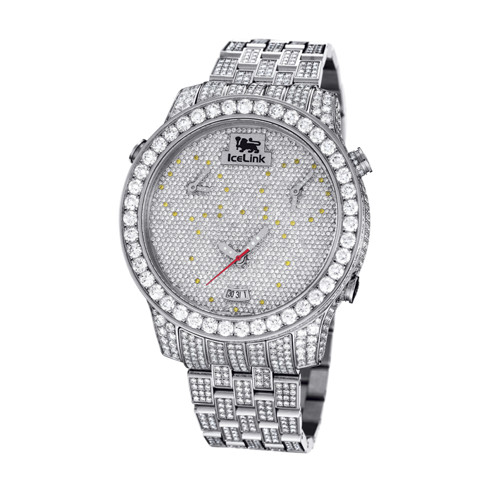 30ct VS Diamond 3 Time Zone Watch