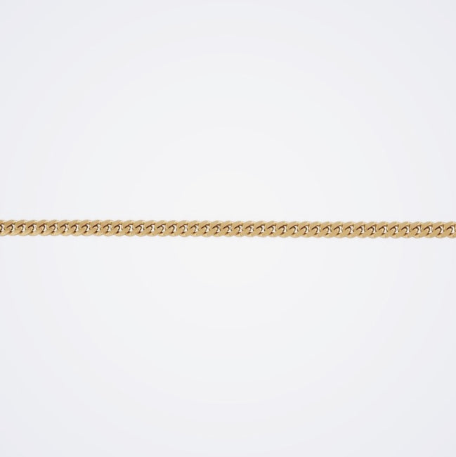 14K Hollow Miami Cuban Link Chain 4.5mm - IceLink