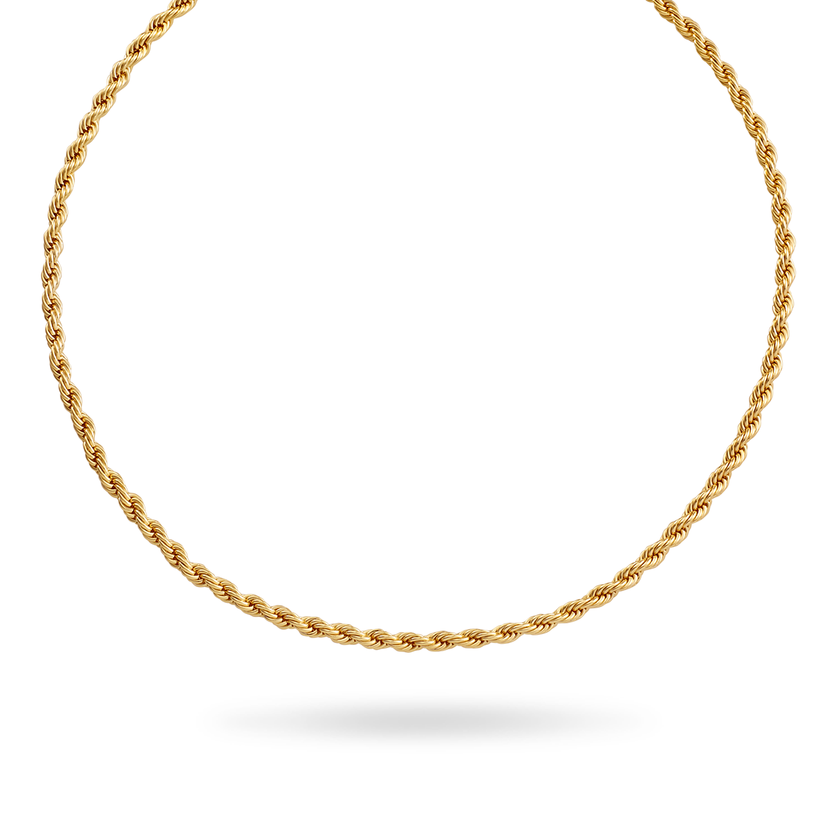 14K Gold Rope Chain 2mm