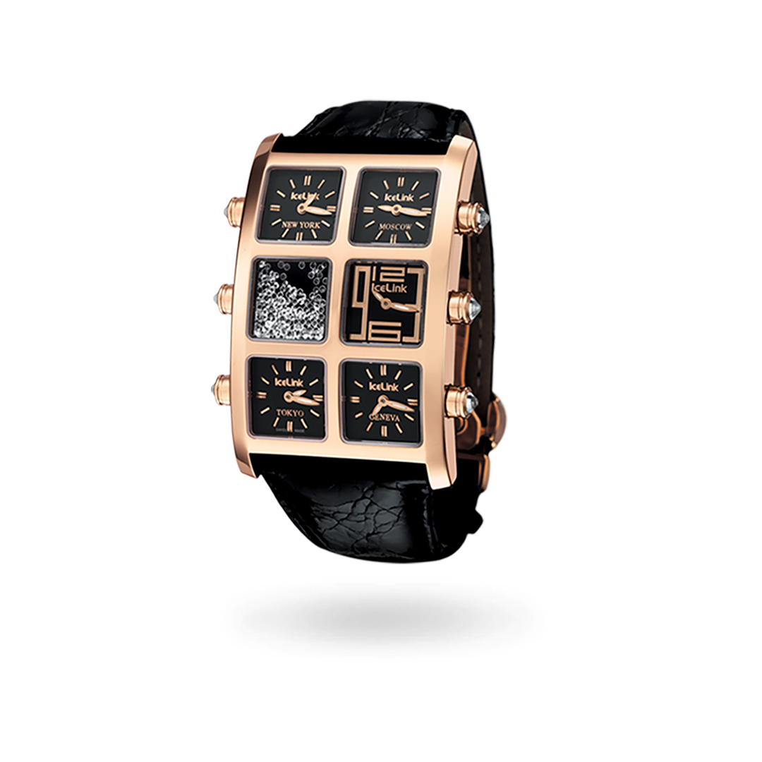Orla 18K Gold Watch - IceLink