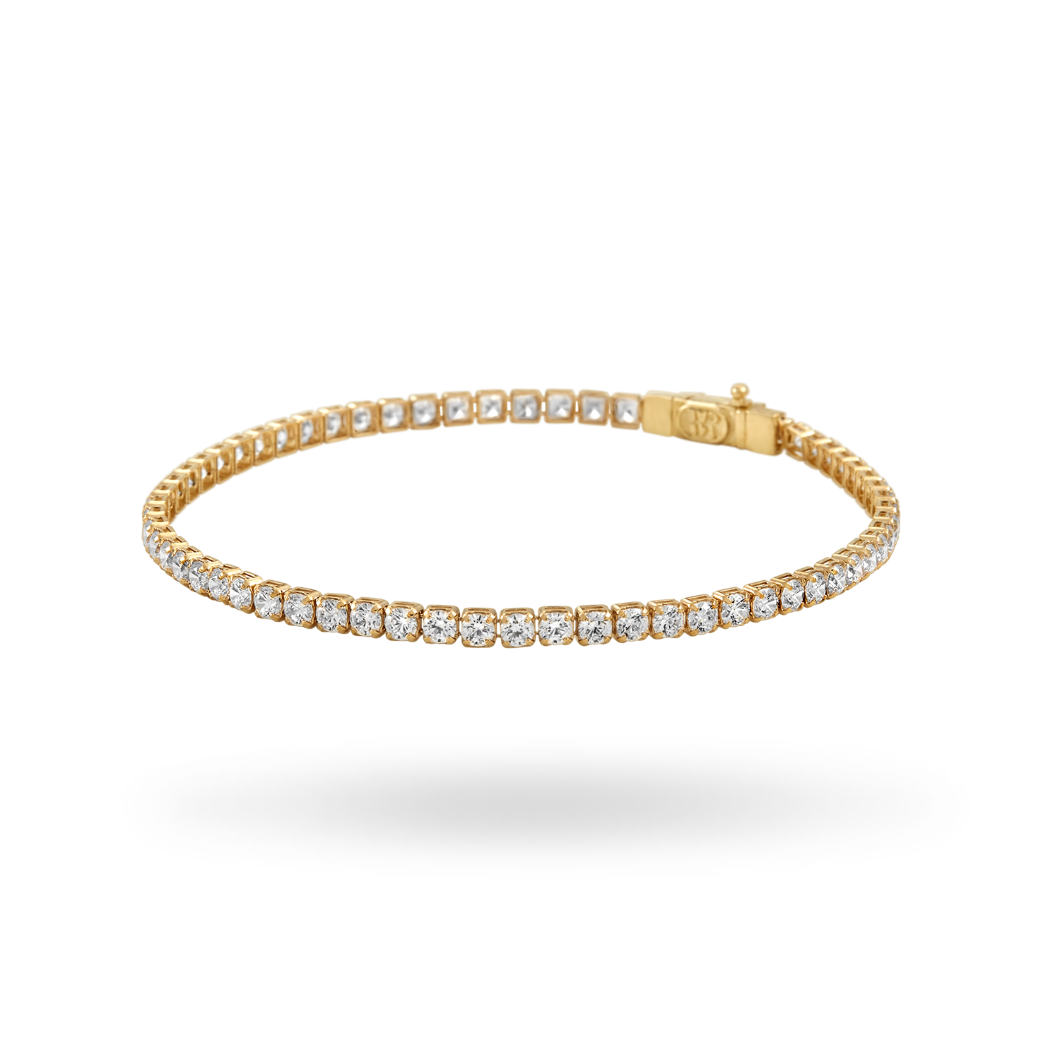 14K Gold Tennis Bracelet 2.75mm