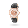 Whistler Rose Gold & White with Black Strap Watch - IceLink