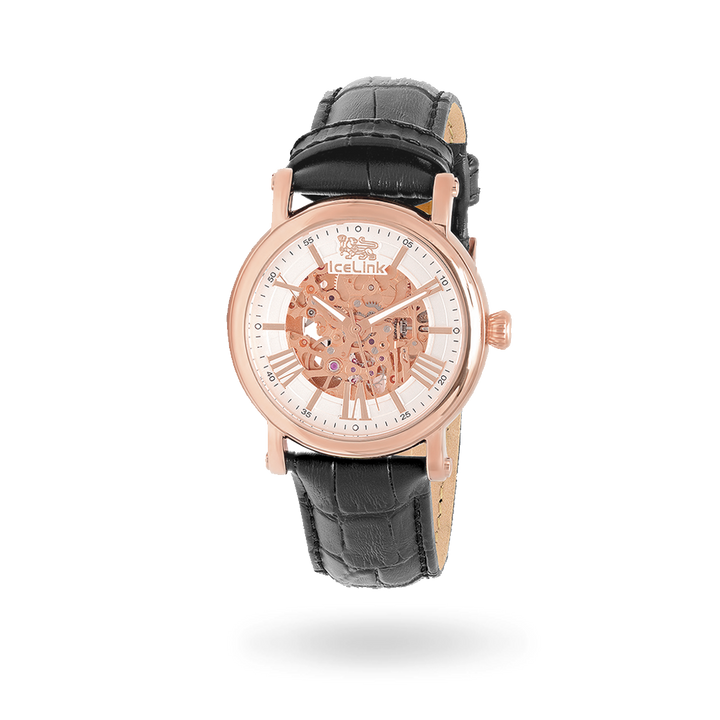 Whistler Rose Gold & White Watch