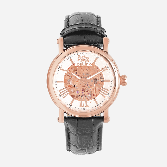 Whistler Rose Gold & White