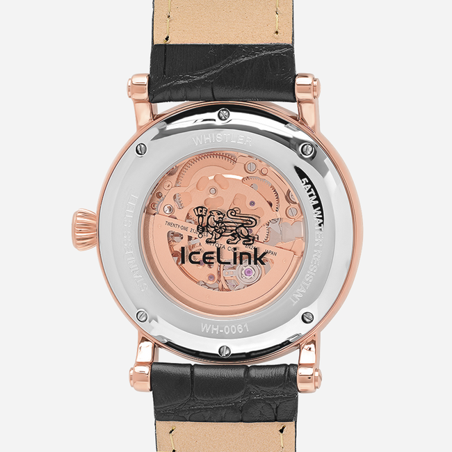 Whistler Rose Gold & White Watch - IceLink