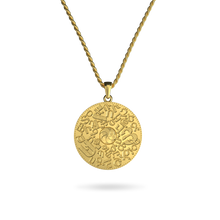 14K Gold Plated Armenian Alphabet Necklace
