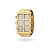 Mai Metal 40mm Multi-Time Zone Watch