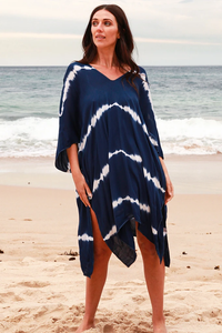 Julie Navy Kaftan