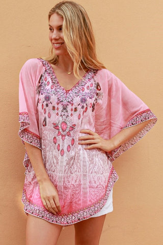 Wendy Kaftan top