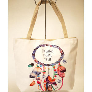 Dreams Come True Large Canvas Bag