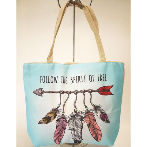 Spirit Large Canvas Tote Bag