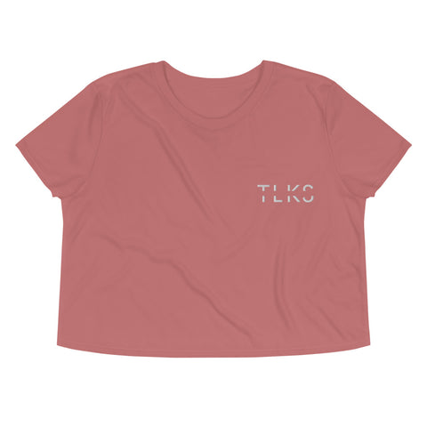 TLKS Mauve Staple Crop Tee