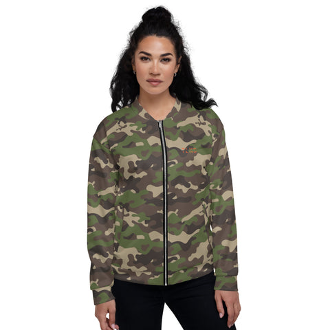 Tom Camo Bomber Jacket