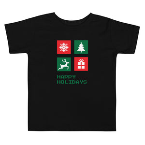 Happy Holidays Toddler Tee