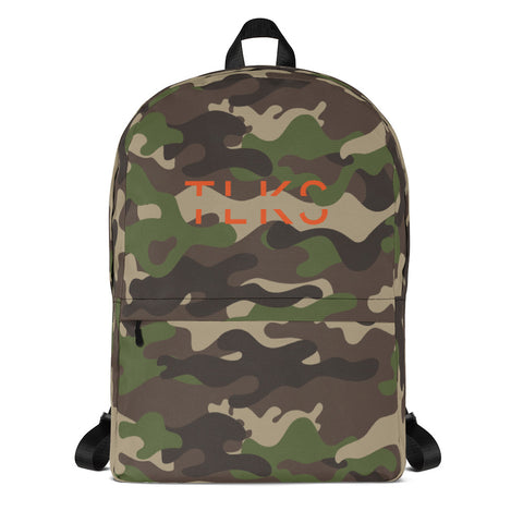 Tom Camo Backpack