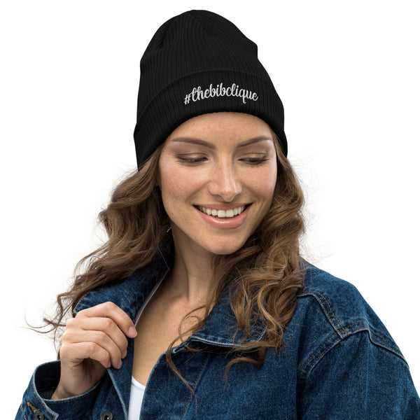 #thebibclique Organic Ribbed Beanie