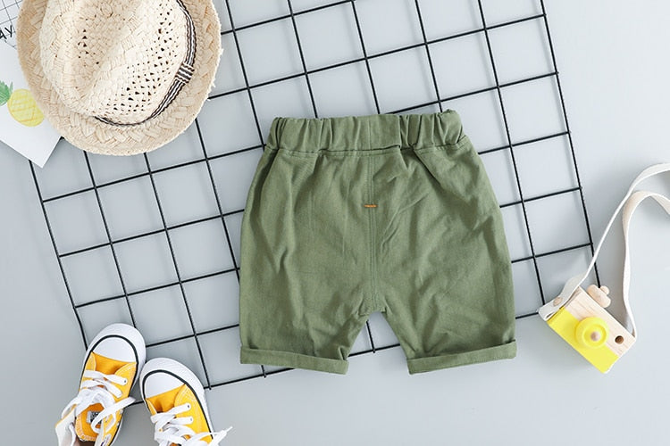 Boys Shorts And T-Shirt Clothing Set