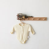 Cute Girls Ribbed Romper - Little Swan Boutique