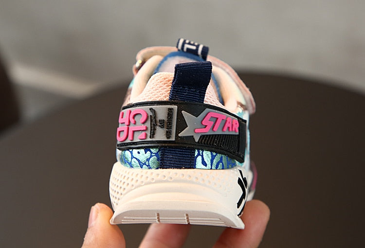 Kids Retro Sports Sneakers - Little Swan Boutique