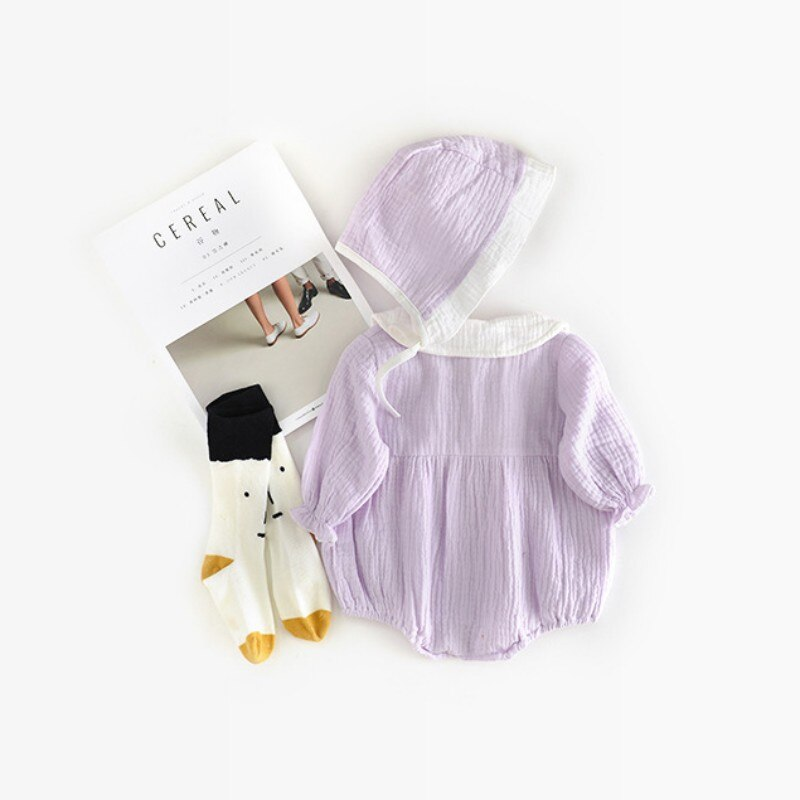 Lovely Baby Girls Korean Style Romper Set