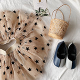Beautiful Girls Star Printed Skirt