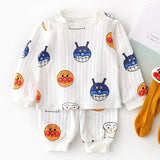 Kids Ribbed Long Sleeve Clothing Set