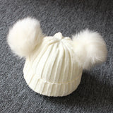 Adorable Warm Baby's Knit Pompom Beanie