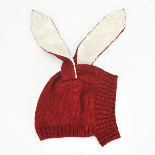 Baby Rabbit Long Ear Beanie - Little Swan Boutique