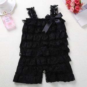 Baby Girl Lace Romper - Little Swan Boutique
