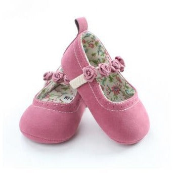 Beautiful Flower Floral Baby Girl Shoes - Little Swan Boutique
