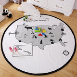 Kids Gamepad Play Mat - Little Swan Boutique