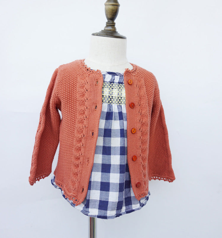 Beautiful Girls Knitted Cardigan - Little Swan Boutique
