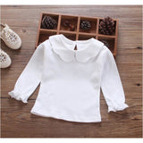 Baby Girls Cotton Shirts - Little Swan Boutique