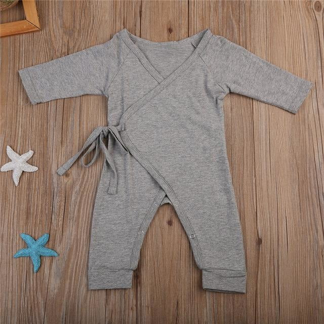 Baby Angel Wings Jumpsuit - Little Swan Boutique