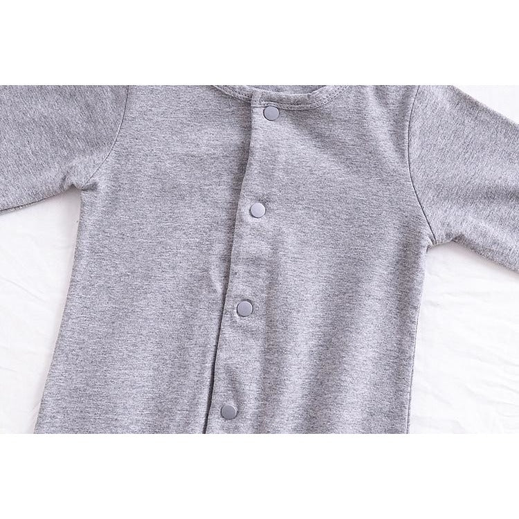 Baby Long Sleeve Jumpsuits - Little Swan Boutique