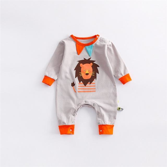 New Baby Animal Jumpsuit - Little Swan Boutique