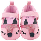 Cute Fox Baby Shoes - Little Swan Boutique