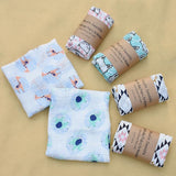Muslin Baby Swaddle Blanket - Little Swan Boutique
