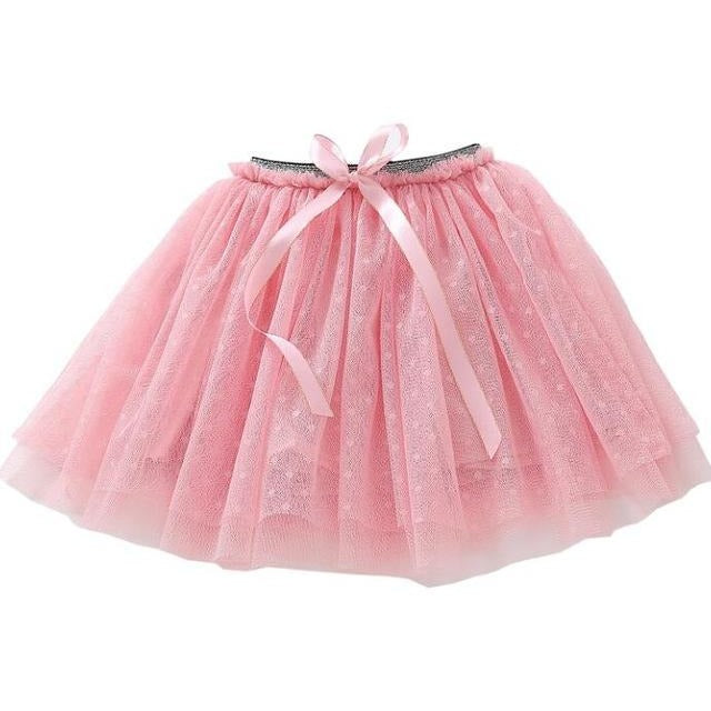 Girls Lace Tutu Skirt - Little Swan Boutique