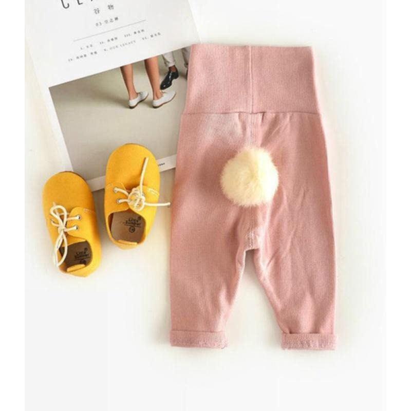 Cute Hair Ball Leggings - Little Swan Boutique
