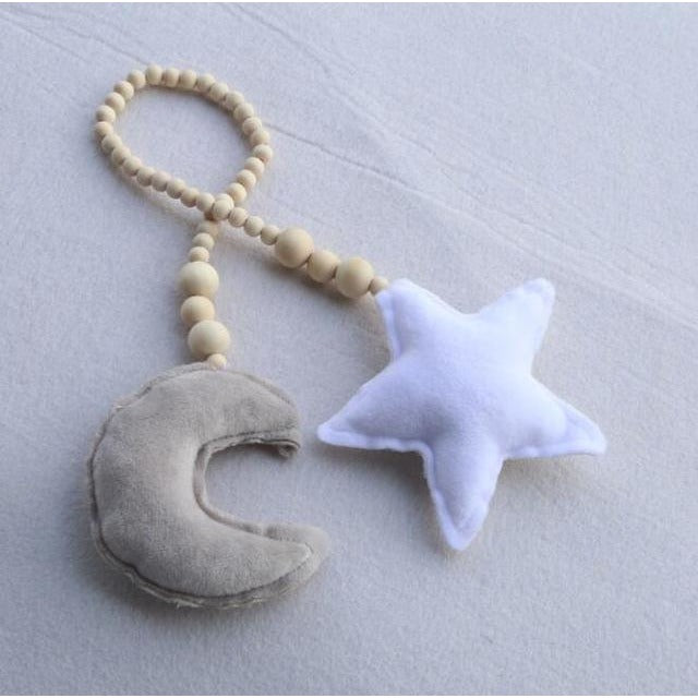 Baby Moon Star Ornaments - Little Swan Boutique