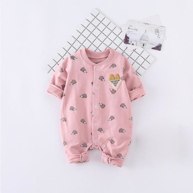 Cute Baby Fox Jumpsuits - Little Swan Boutique