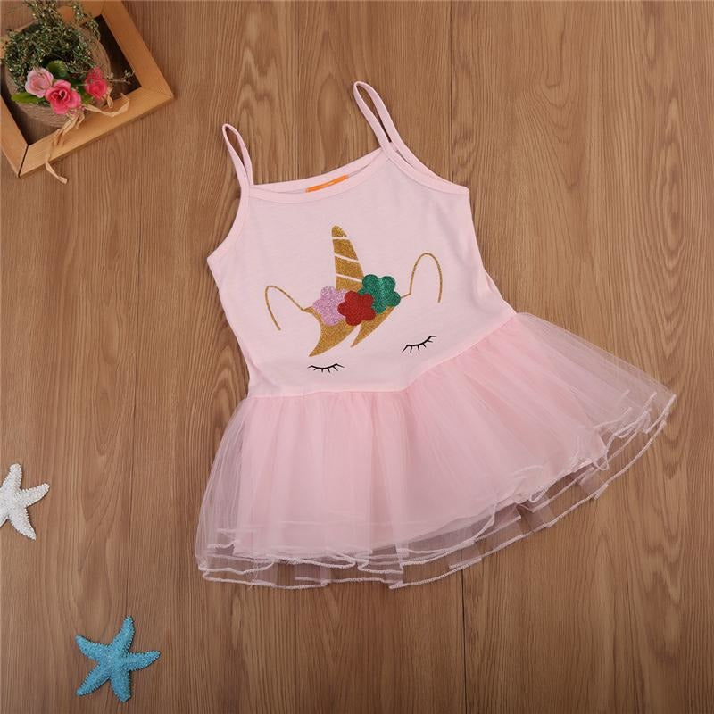 Unicorn Tutu Party Dress - Little Swan Boutique