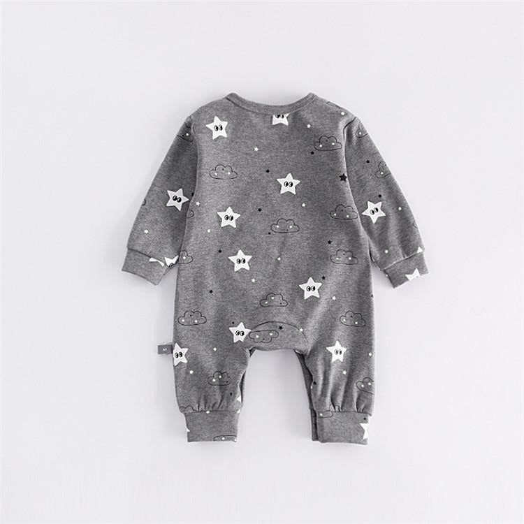Cute Baby Star Jumpsuit - Little Swan Boutique