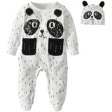 Cute Panda Baby Jumpsuit - Little Swan Boutique