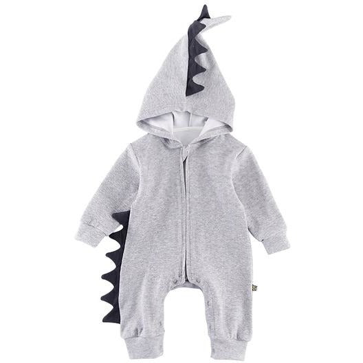 Cute Baby Dinosaur Jumpsuit - Little Swan Boutique